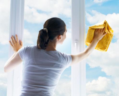 Glas-/ Fensterreinigung